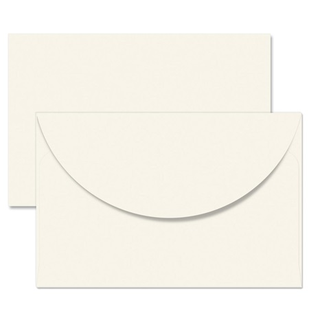 Cream Crescent Envelopes