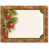 Baroque Christmas Holiday Jumbo Post Cards