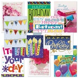 Birthday Card Assortment Pack
