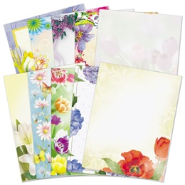 Floral Border Paper Variety Pack