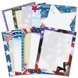 Patriotic Border Paper Variety Pack