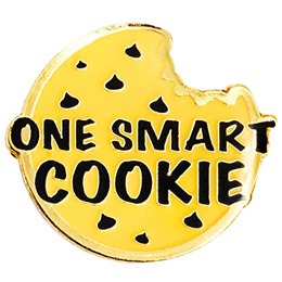 One Smart Cookie Lapel Pin