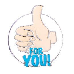 Thumbs Up For You Pin
