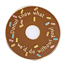 DONUT Know What… Lapel Pin