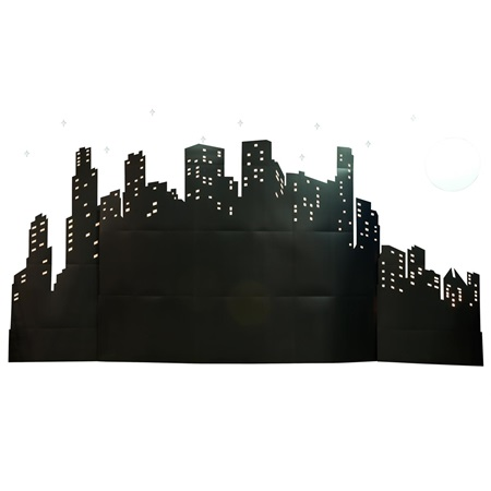 Wonderful World Cityscape, Moon and Stars Kit