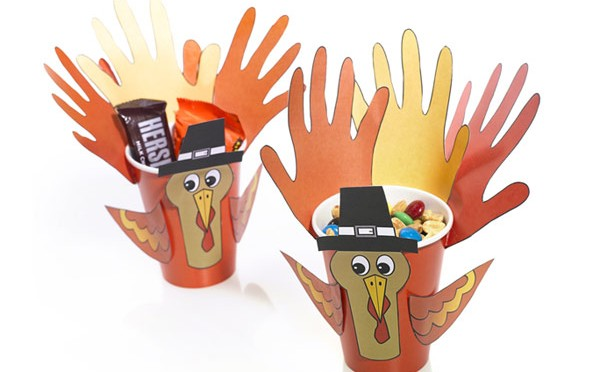 Turkey Craft Cups