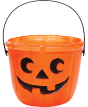 halloween candy bucket trick or treat