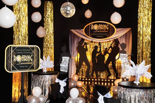 roaring 20s theme 1920s gatsby gatsby party