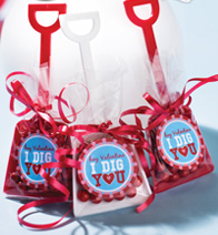 Valentine's Shovel craft project