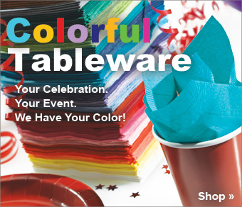 Colorful Party Tableware