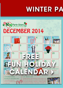 Free Fun Holiday Calendar