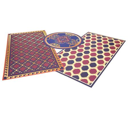 Aesthetic expressions boho rugs kit m n party store for International decor rugs